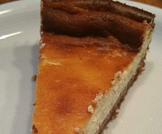 Rezept Käsekuchen mit Mandelboden - low carb - keto von bine_busy - Rezept der Kategorie Backen süß