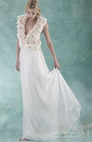 Sheath Wedding Dress by @Ioanna Kourbela