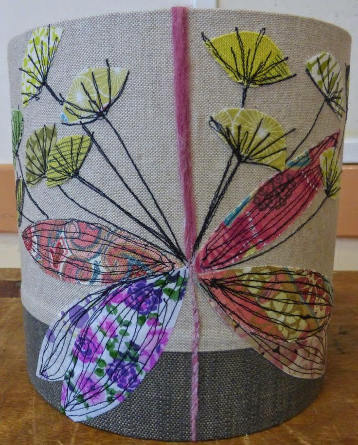 Jo Hill Textiles: lampshade workshop Jan 2015