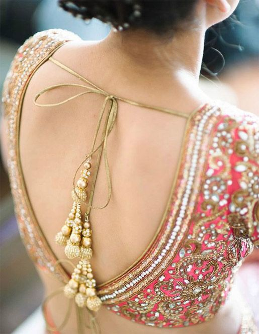 Designer Saree Blouse Design 11