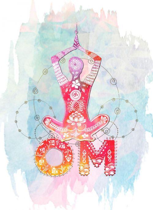 Om Spirit by True Spirit Art