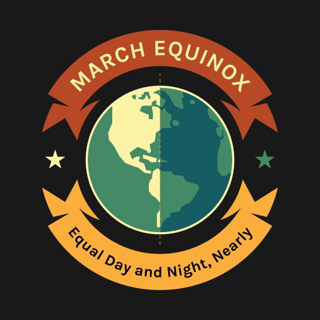 Check out this awesome 'March+Equinox+Earth+Equal+Day+and+Night+Nearly+Women+Men+Boys+...' design on @TeePublic!
