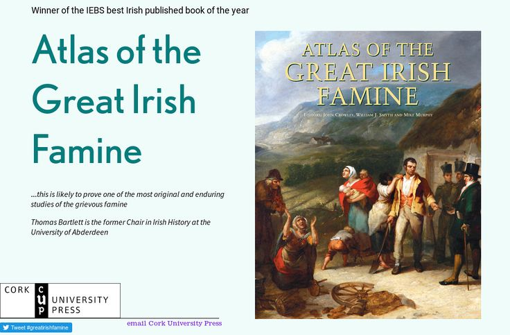 'Atlas of the Great Irish Famine ' by Mike Collins Cork University Press | Readymag