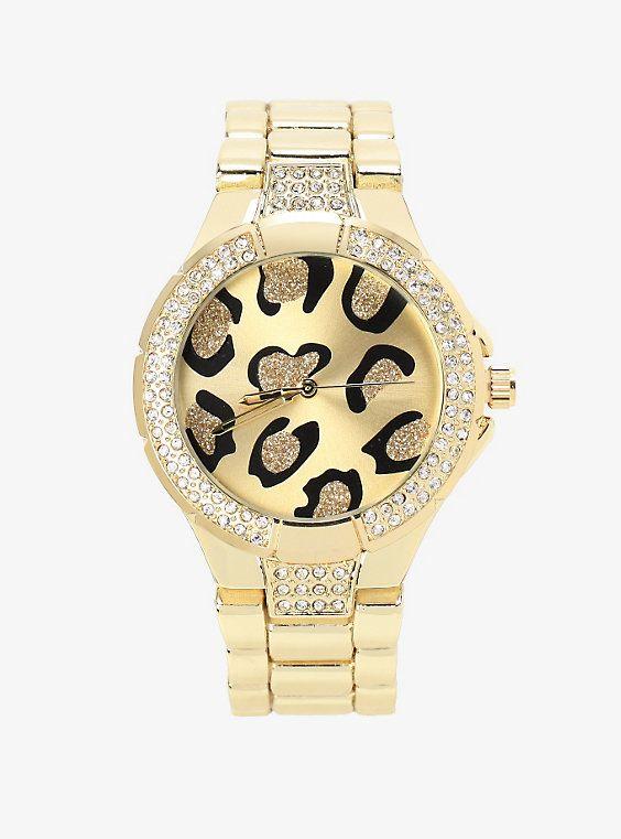 Leopard Face Boyfriend Watch,