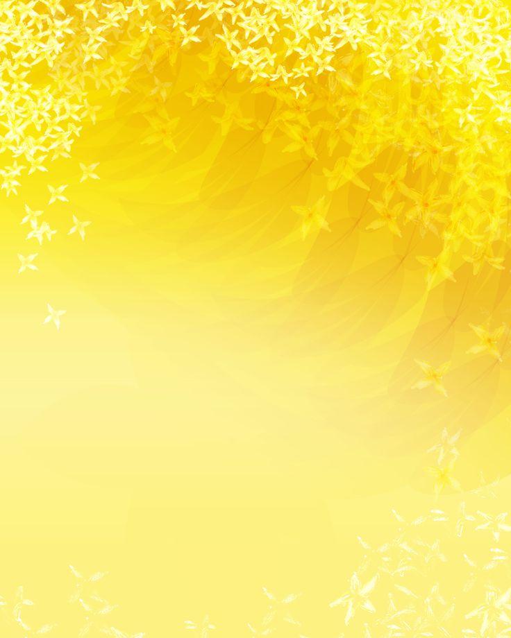 Картинки желтых фонов