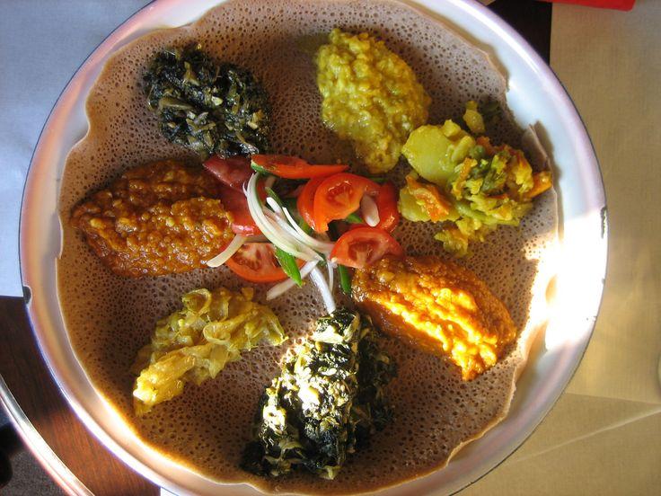 Abyssinia Ethiopian Restaurant - Lots of vegan options