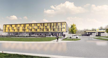 GAZ SYSTEM S.A. branch in Rembelszczyźnie, PL