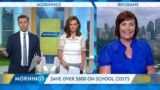Money saving tips for back to school with the Mornings program.
