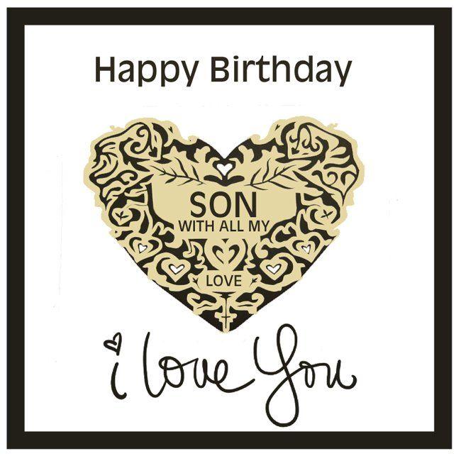 Best 25 Son birthday cards ideas – Free E Birthday Cards for Son