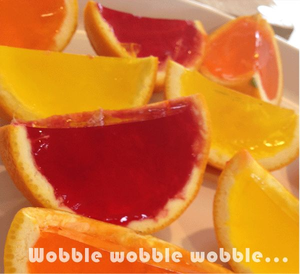 Build House Home: Don't you love....wobble wobble wobble jelly on a plate