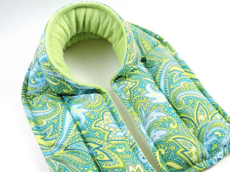 Extra Long Neck Wraps, Microwave Heating Pad, Heat Pack Neck Warmer, XL Hot Pack Cold Pack
