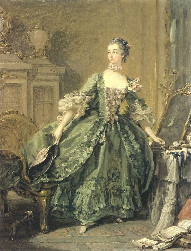 Boucher: Madame Pompadour, Françoi Boucher, Madame De, Francois Boucher, 1750, Art, The Pompadour, 18Th Century, François Butcher