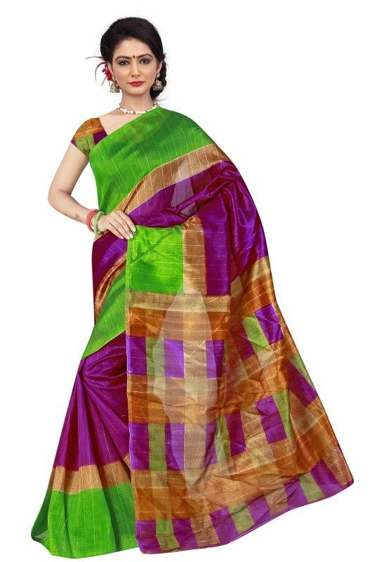 buy saree online Multi Colour Bhagalpuri Print Casual Wear Saree Buy Saree online - Buy Sarees online