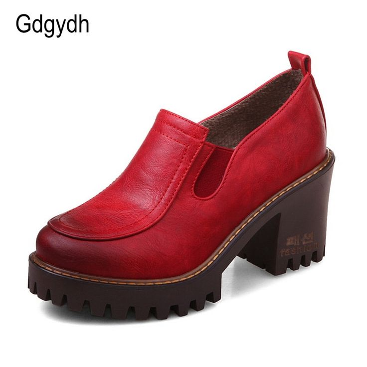 24.63$  Watch here - http://alimhr.shopchina.info/go.php?t=32798267913 - Gdgydh Women Pumps British Style Round Toe Platform Female Single Shoes 2017 Spring Autumn New Casual Elastic Band Ladies Shoes  24.63$ #bestbuy