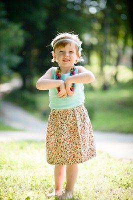 bautiful silky skirt for girls, #nomorepink