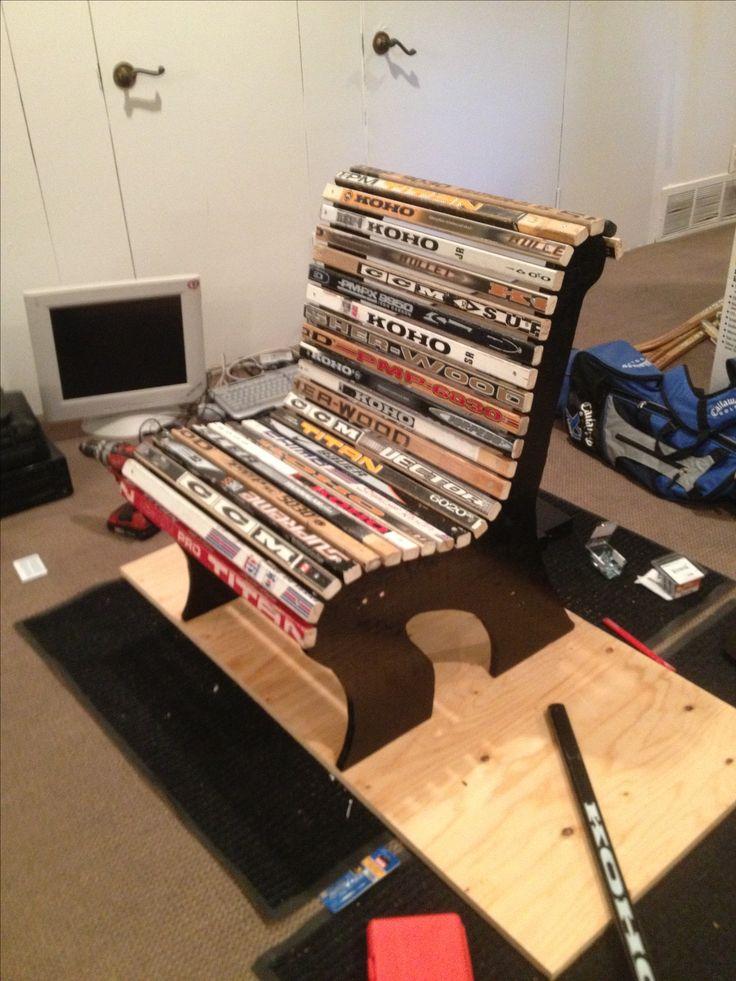 Hockey Stick Chair By Jonathan Antebi