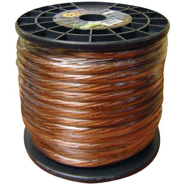 DB Link GW4BK100Z Power Series Power Wire (4 Gauge, Black, 100ft)