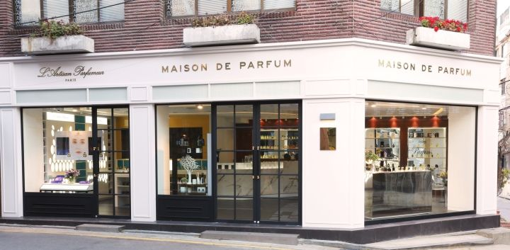 Maison de Parfum store by geo.Logic, Seoul   South Korea cosmetics