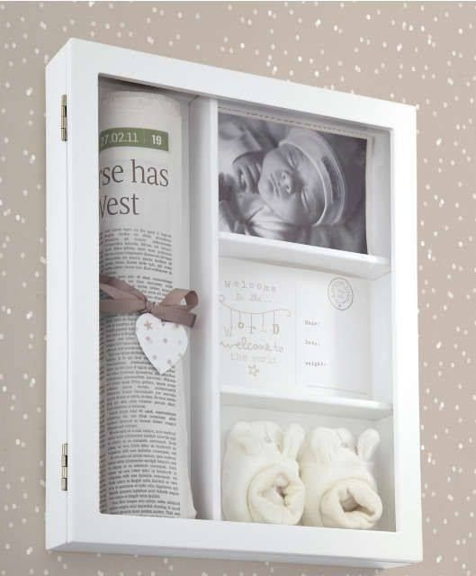 51+ Diy Shadow Box Ideen & Wie erstelle ich   – Baby keepsake