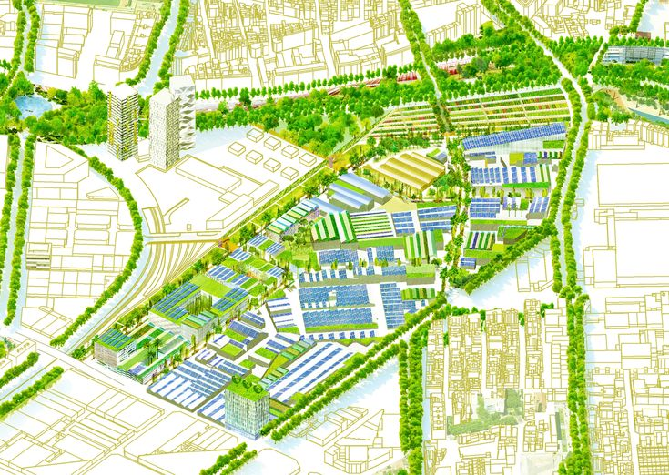 La nueva fábrica urbana: el eco-parque industrial de Torrent Estadella, Barcelona,Cortesía de Eduard Balcells