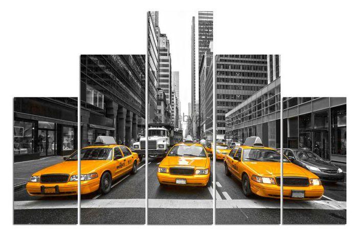 Nowy Jork w twoim domu. http://www.kreocen.pl/produkt/Feebypl-Taksowki-w-miescie-Piramida-Piecioczesciowy-pentaptyk-Piramida-18_534_2441892.html