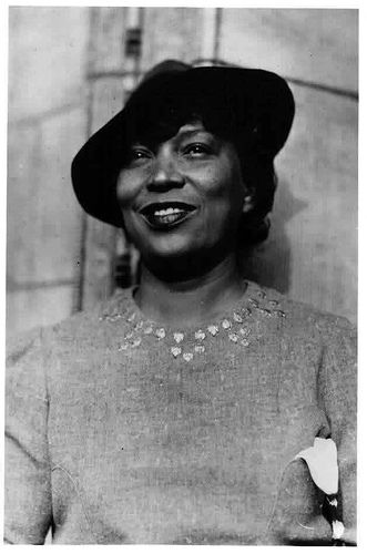 """Zora Neale Hurston (1891 – 1960) was an African American folklorist and author during the time of the Harlem Renaissance, best known for the 1937 novel, """"Their Eyes Were Watching God."""""""