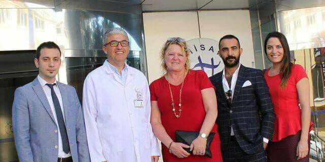 Exclusive surgery staff with dr Aydin Gözü