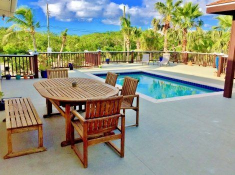 Beautiful home in the heart of Grace Bay, Turks and Caicos  The lovely 4 bedroom home is currently operating as a vacation rental however it would make an ideal family home as well.  #lovelyhome #newstart #familyhome #spacious #views