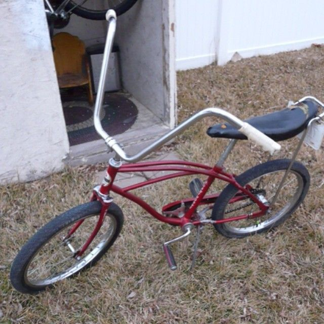 """""""Check out this fun ride! A 1967 #Huffy #Hawthorne bicycle! It has the classic #banana seat and #apehanger handlebars. Check out more cool collectibles…"""""""