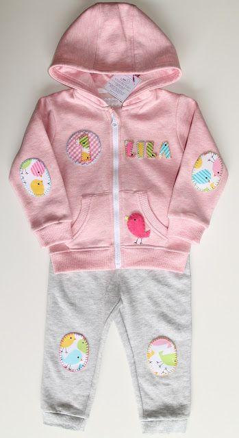 cocodrilova: chandal pajaritos #chandal #bebe #1año