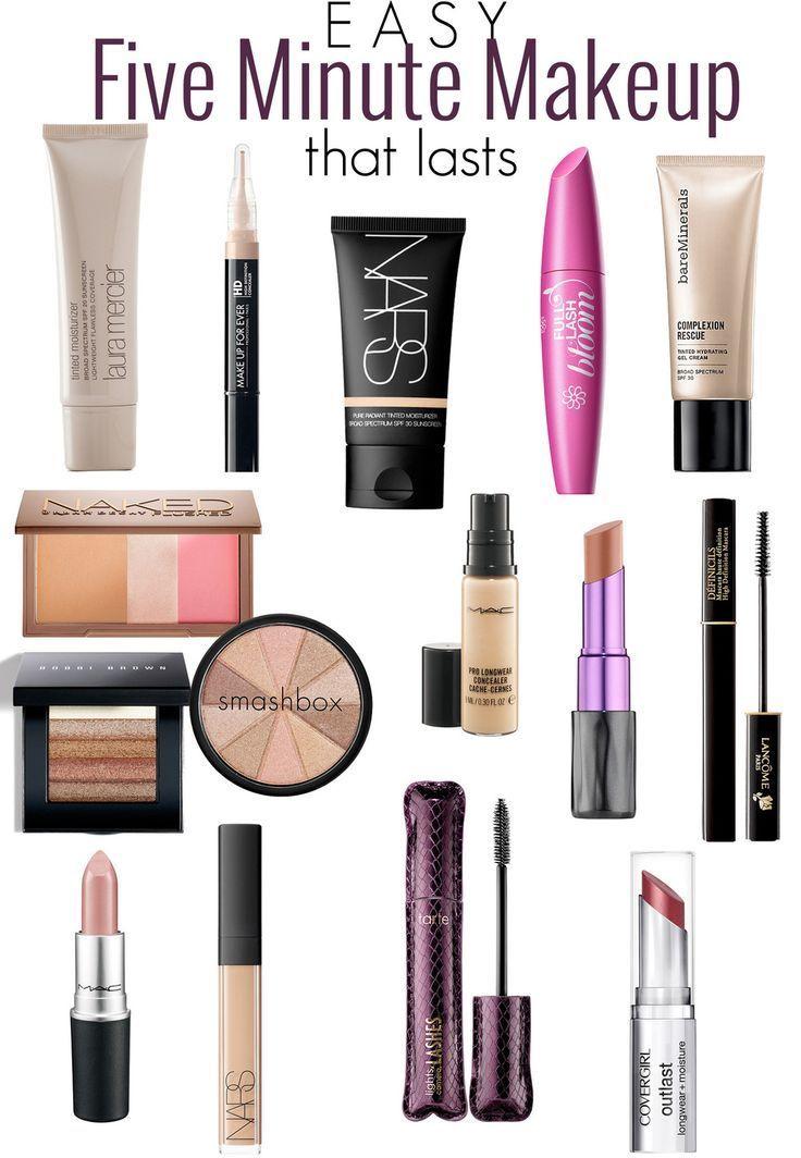 Best 25+ Quick Makeup Routine Ideas On Pinterest