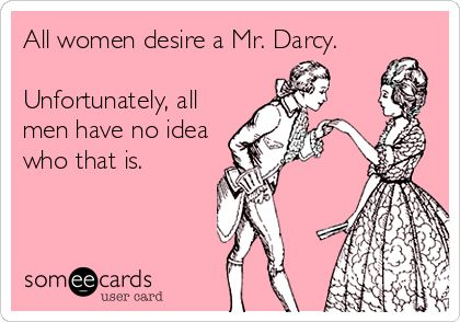 Oh mr Darcy
