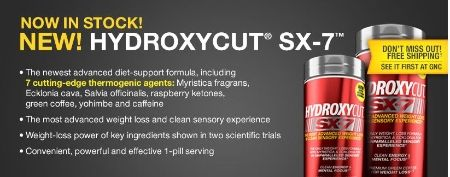 New Hydroxycut SX-7 at General Nutrition Center at the Colonial Park Mall, Harrisburg, Pa.