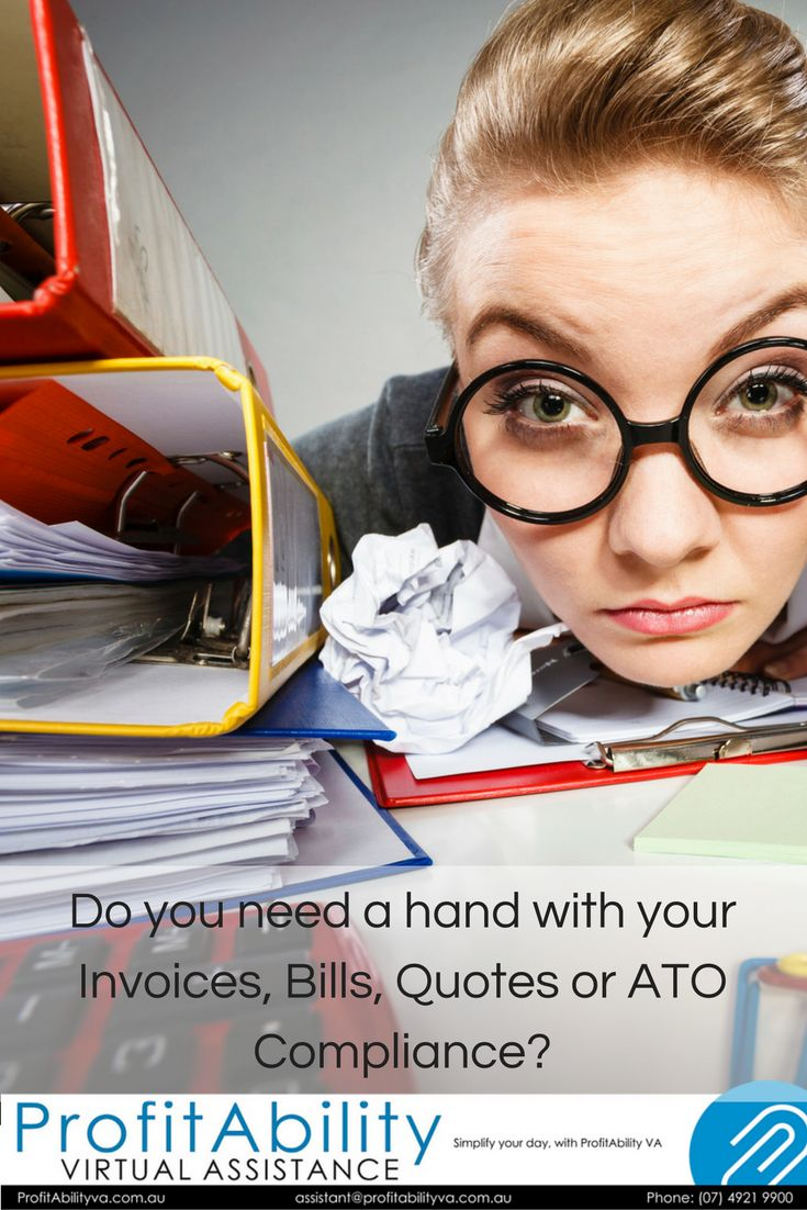 Do you need a hand with your Invoices, Bills, Quotes or ATO Compliance? We have certified bookkeepers that specialise in QuickBooks, Reckon, MYOB, Xero & the receipts that you have tucked away in your shoe boxes! wink emoticon;) Why don't you concentrate on your business and let us concentrate on your bookkeeping. Love Your ProfitAbility Virtual Assistant