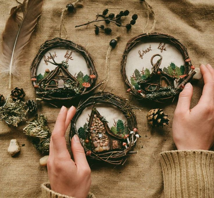 Woodland pieces are available on foxychest.etsy.com! 🍁 . #vsco #vscocam #hand…