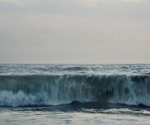 Tidal Resonance No.23, 2013. The photographs in Tidal Resonance depict the echoes, natural sounds and languages of the ocean.