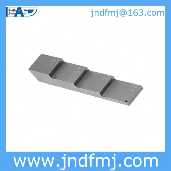 4-step test block: USD65/pc with your Logo Email: jndfmj@163.com