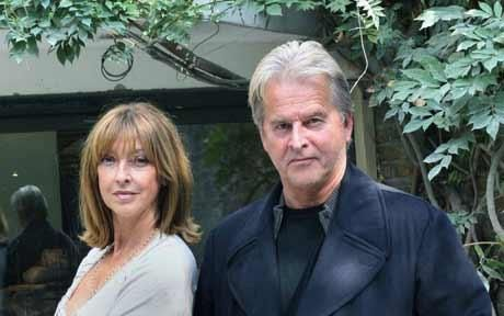 Trevor Eve and wife Sharon Maughan.