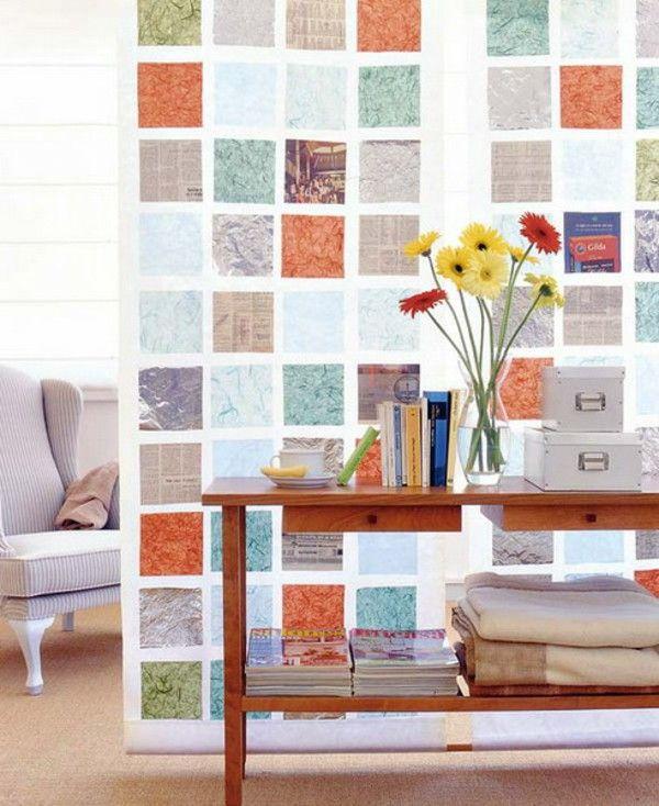 Gaya Tembok Dengan Berbagai Warna