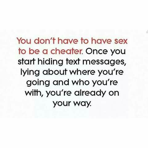 True. Emotional cheating is the same.