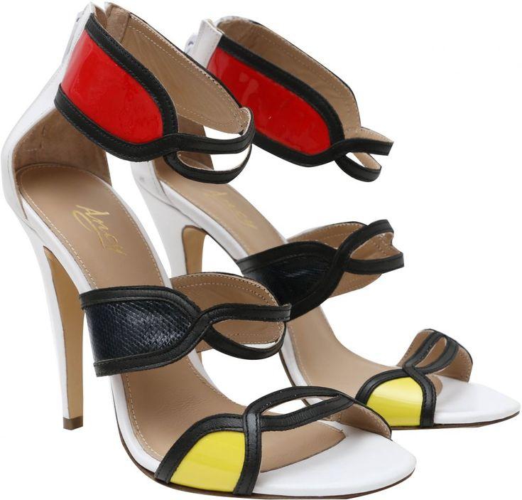 Buy Amsy Multe Color Heel For Women - Casual & Dress Shoes | KSA | Souq