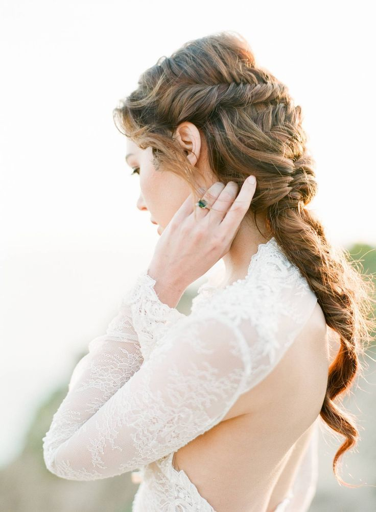 Pin On Beauty In 2020 Hair Styles Romantic Wedding Hair Wedding Hair And Makeup