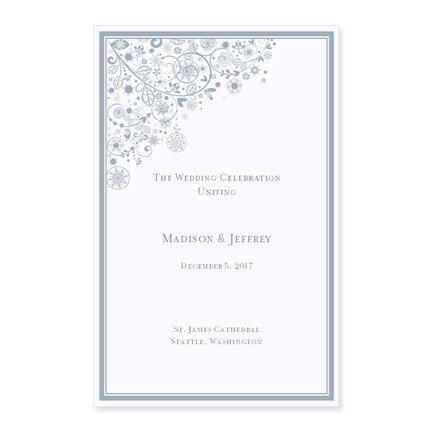 best 25 wedding ceremony program template ideas on pinterest