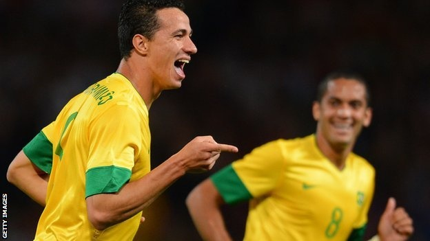 Brazil will play Mexico in Saturday's men's Olympic football final at Wembley after brushing aside the challenge of South Korea with a 3-0 victory.