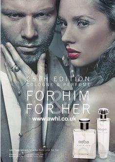 25th edition perfume - Een eigenzinnig parfum met bestanddelen die geheel in overeenstemming met de natuur zijn. Een frisse geur van onder andere lavendel, bergamot, geranium, ananas en sandelhout. Deze exclusieve geur is speciaal ontworpen voor de moderne man.