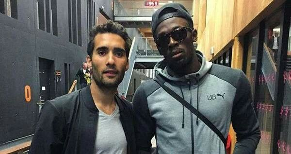 Martin Fourcade❤️ et Usain Bolt