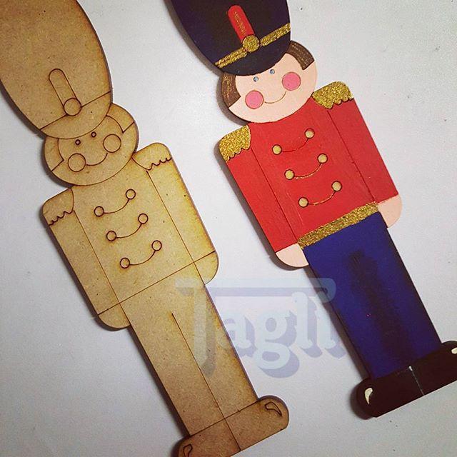 Soldadito de plomo! #tagli #laser #lasercut #acrilico #navidad…