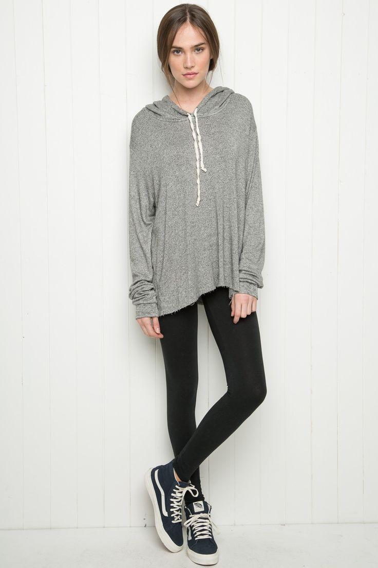 Brandy ♥ Melville | Hanne Hoodie - Hoodies - Sweaters - Clothing