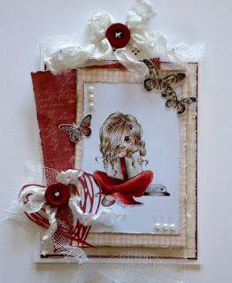 Kirstens Hobbyblogg: Bursdagskort.