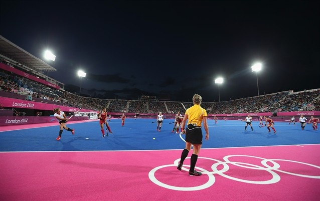Germany Holds Off United States - Field Hockey Slideshows (Photo: Daniel Berehulak / Getty Images) #NBCOlympics